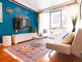 3 bed/2 bath DESIGNER Downtown NY