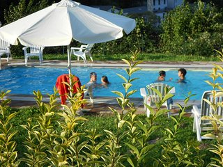 Lake Como, Happy Residence 72, pool and view, Argegno