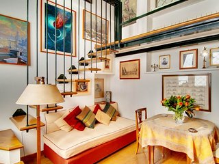 Falegnami Terrace apartment in Centro Storico {#h…, Roma