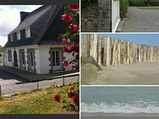 maison dans la foret a coté de la mer