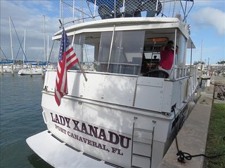Yacht Lady Xanadu:  Kick Back and Relax on this Fabulous Private Yacht!, Merritt Island
