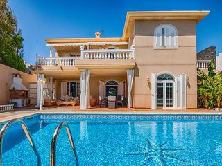 Villa frente al mar en la Playa de la Concha