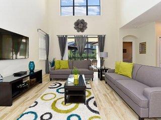 Solterra Resort 5 Bedroom 5 Bath Pool Home. 5493SC, Davenport