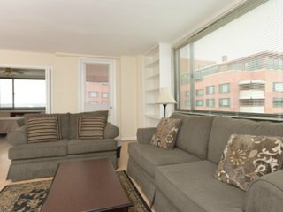 Spacious 1 Bedroom, 1 Bathroom Arlington Apartment With Balcony and Views