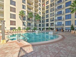 Attractive Panama City Beach Studio Condo w/Wifi, Spacious Private Balcony