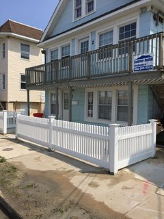 A 3 bedroom, beach block, completely renovated.