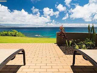 Kapalua Bay Villa Gold Breathtaking Ocean Views! Direct Beach Front Location!