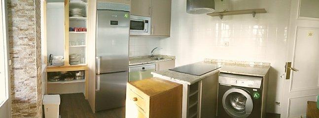 Todos los electrodomésticos en perfecto estado, nuevos.