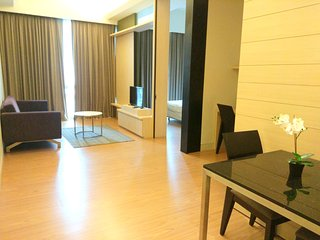 Swiss Garden 1 bedroom 4 star Apartment Bukit Bintang Wifi & Car Park吉隆坡4星套房