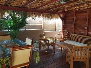 Magnifique rez-de-villa à 5minutes à pied de la plage