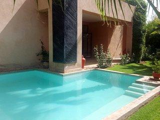 Cosy & modern  4 bedrooms villa on golf, Marraquexe
