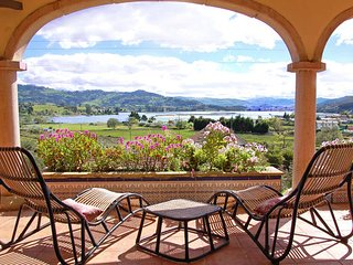 Villa en la playa de Rodiles Espectaculares Vistas, Villaviciosa