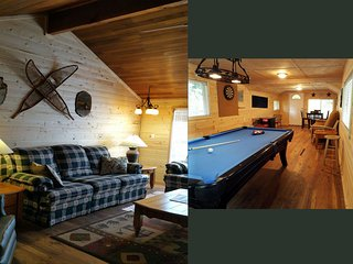 Butter Creek Cottage w/Private Game House, WIFI, Hike, Ski, Rainier, sleeps 8-10