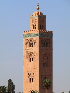 Koutoubia mosquee. Emblematic of Marrakech