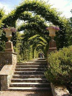 The formal gardens at Birr Castle