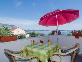 Apts & Room Olive - Double Room with Balcony and Sea View, Mlini