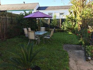 Private Back yard.