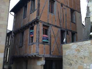Beautiful medieval town house, Bergerac