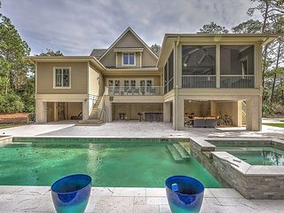 4 Fox Grape - Amazing 6 bedroom home close to the beach!, Hilton Head