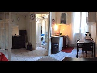 Appartement 4 personnes au centre ville Montrouge. 3' Metro 4 Marie Montrouge