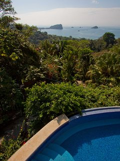 Lush rainforest with views of Manuel Antonio National Park all to yourself