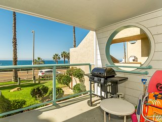 Beach Pleasure Ocean View Large Balcony, Child Playground Sandy Beaches, Oceanside