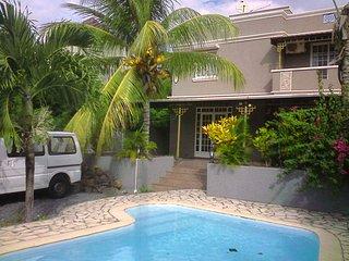 Villa Staar avec piscine privé, Pereybere