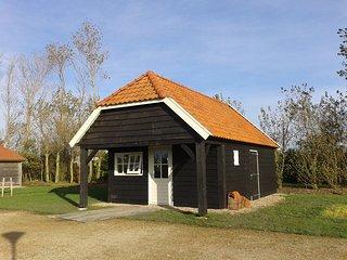 Boeren hut direct aan de Oosterschelde.