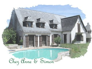 Chez Anne & Simon, perfect for large family, group of friends and golf amateurs!