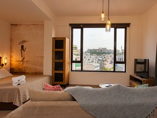 Luxury Suite with Acropolis View in Athens Center