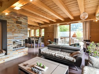 Modern Chalet In Chamonix with View of the Mont-Blanc