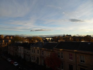 Stunning views & 5 minutes from Byres Rd, WestEnd, Glasgow