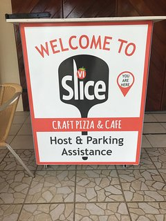 Slice VI is our poolside restaurant.