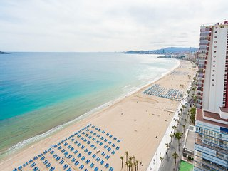 Apartamento de 2 habitaciones primera linea playa