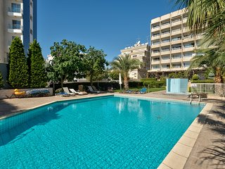 1b Boutque Seaview with pool - Apollonia beach