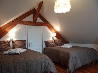 Meublé familial entièrement rénové pour 4 à 10 personnes, classé 4 étoiles, Romilly-sur-Seine