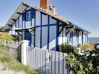 Fisherman's house on Arcachon Bay, Cap-Ferret