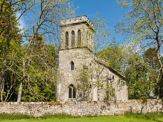 GREYSTEAD OLD CHURCH, converted church, woodburner, upside down accommodation, n