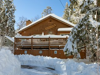 Modern Beauty National Forest. Spa, Wi-fi, Hiking from Backyard. Walk to Village, Big Bear Region