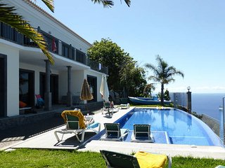 Ocean Cliff Villa -  Relax Over The Sea  with heated pool - 12391/AL, Ponta Do Sol