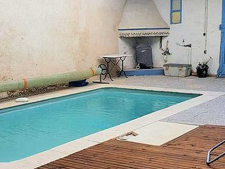 Maraussan French Villa rental with private pool near coast, sleeps 10
