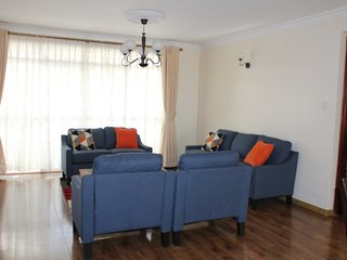 Three-bedroom Fully Furnished and Serviced Apartments, Nairobi
