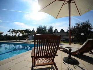 Trullo Alessia with pool- in the heart of Valle d'Itria