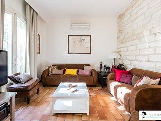 Maison avec clim, jardin et parkings St Eloi/Aiguelongue