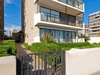 Ocean Front Vina del Mar Apartment for Rent