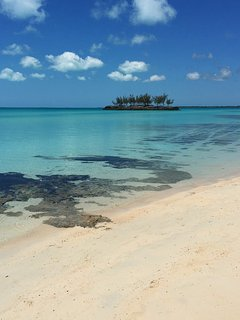Gaulding Cay beach is less than 10 miles away and is one the best in the world.