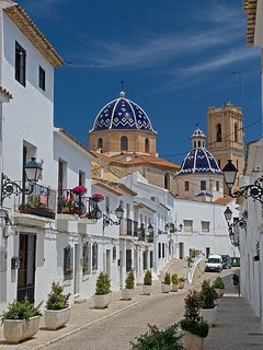Altea's historic Old Town.