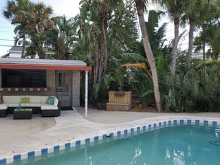 New to the market! Beach house with pool!