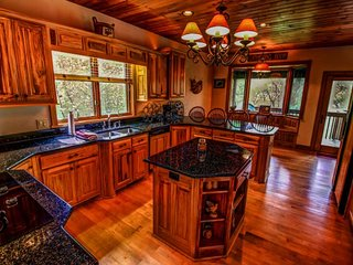 5BR Adirondack-Style Home, 3 Fireplaces, Game Room with Pool Table, view of, Banner Elk