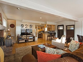 Walk to Main Street, Sundance! 4bd -Sleeps 8 - Only 1 Block to Ski Lift on Main, Park City
